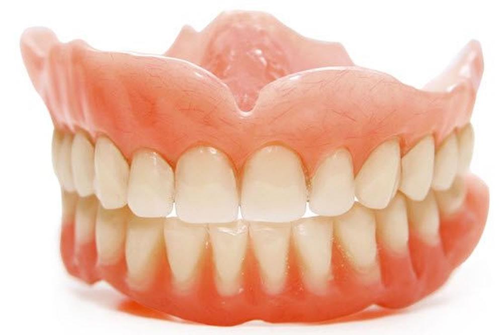 リハビリ用の義歯